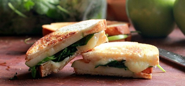 meatless recipes, camembert apple sandwhich, cooking with kids, lent recipe