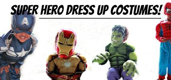 Superhero Costumes at Walmart