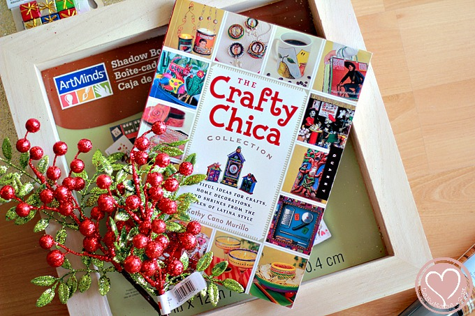 Family Legacy Craft: Photo Memory Shadowbox for Baby's First Chritsmas
