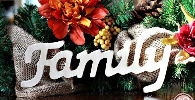 Super Simple Thanksgiving Garland for Inspired Home Decor
