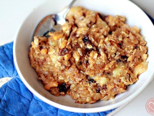 Sweet Potato Oatmeal Breakfast Recipe