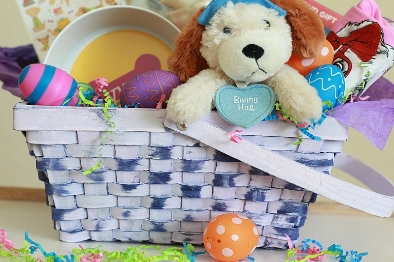 An annie inspired easter basket for dog lovers de su mama an annie inspired easter basket for dog lovers negle Images