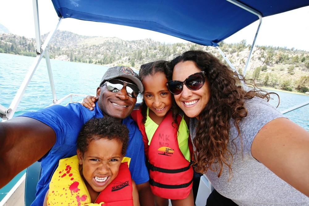 June Lake in Mammoth Lakes with Kids