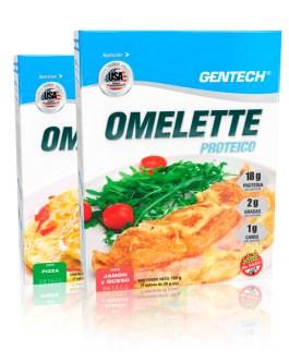 GENTECH Omelette Proteico (7 sobres de 26 Grs c/u)