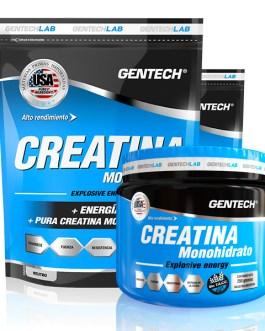 GENTECH Creatina Monohidrato (250/500 Grs)
