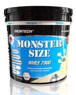 GENTECH Whey Monster Size 7900 (4 kg + 1kg de regalo)