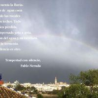 Una tarde lluviosa de abril en Sevilla