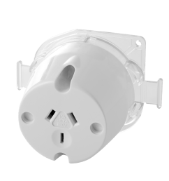 10amp single outlet plug base [ 2000 x 2000 Pixel ]