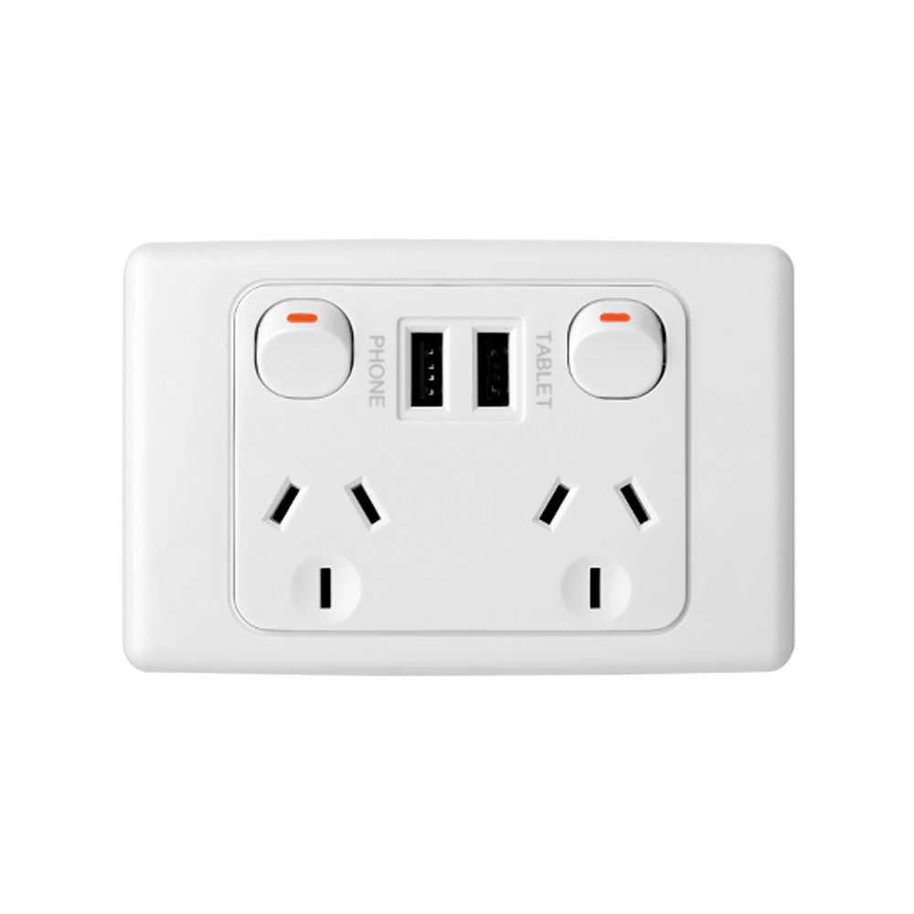 medium resolution of 10a double outlet dual usb