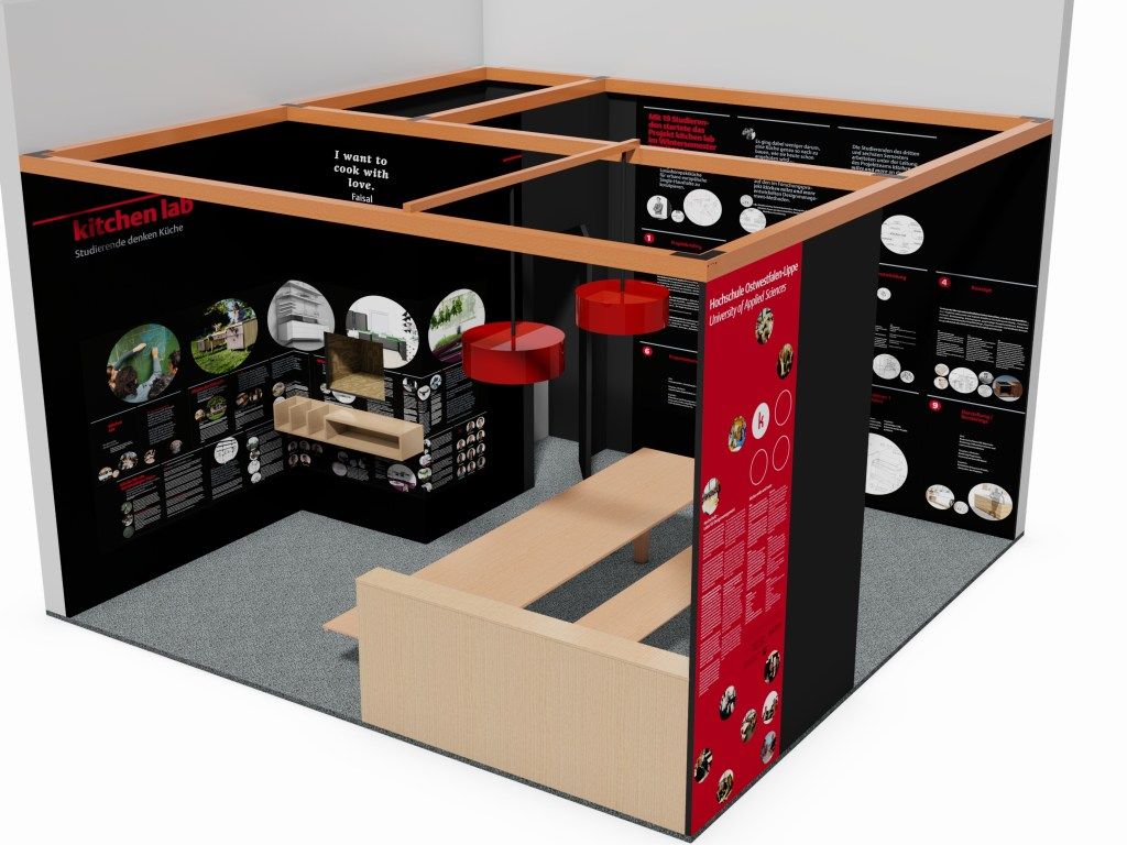 """Messestand """"kitchen miles and more"""""""