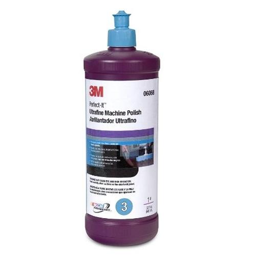 3M PerfectIt Ultrafine Machine Polish 06068  32 oz
