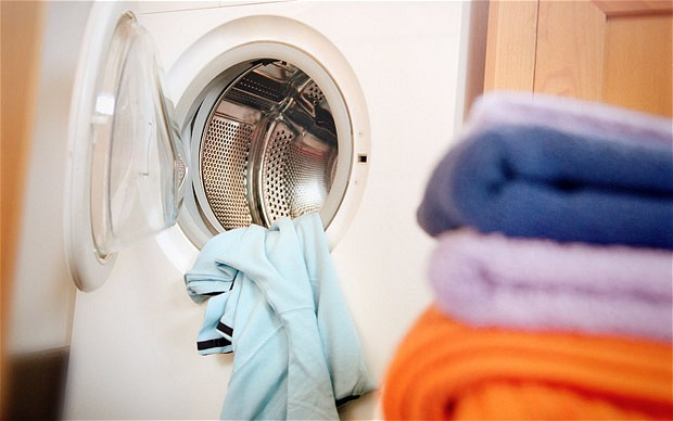 Washing microfiber towels