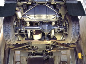 Underbody cleaning