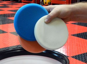 How to clean polish pads