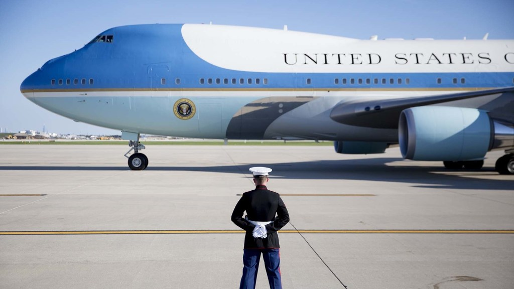 Air Force One Detailing Team