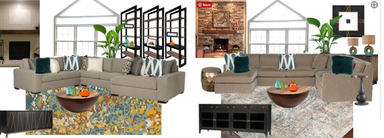Interior Design Concept Board - Mood Board - Details Full Service Interiors - Interior Design in Western MA