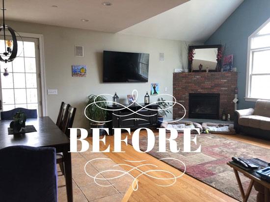 Family Room - Interior Design in Wilbraham, MA - Details Full Service Interiors