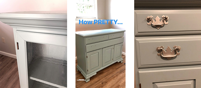 Painted Old Antique Furniture - Details Full Service Interiors