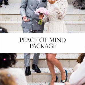 Peace of Mind Wedding day coordinator services