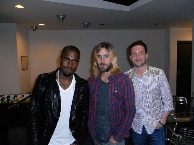 30 Seconds To Mars Kanye West Brandon Flowers Hurricane