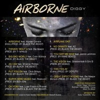 Diggy Simmons - Airborne (Rear Cover)