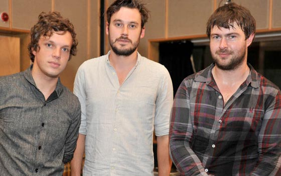 Friendly Fires Live Lounge