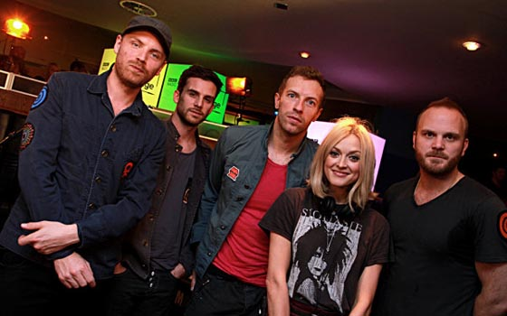 Coldplay Live Lounge 2011