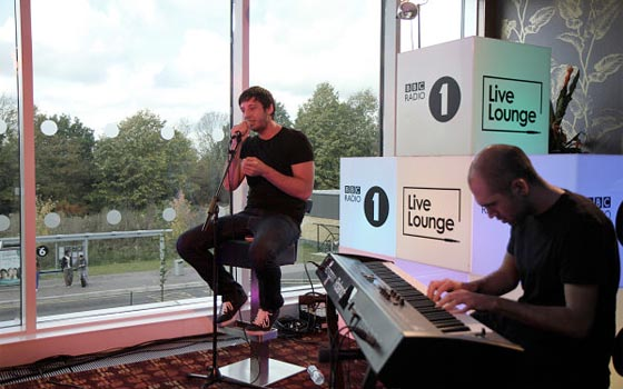 Example Live Lounge 2011
