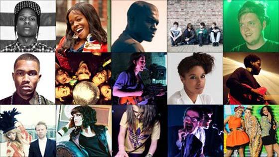 Sound of 2012 Longlist