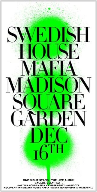 Swedish House Mafia Madison Square Garden
