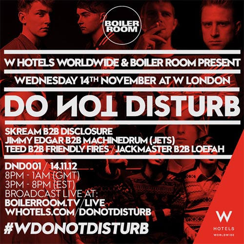 Skream Disclosure Boiler Room