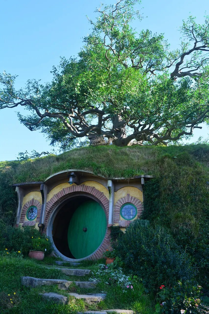 Hobbit House in the Shire