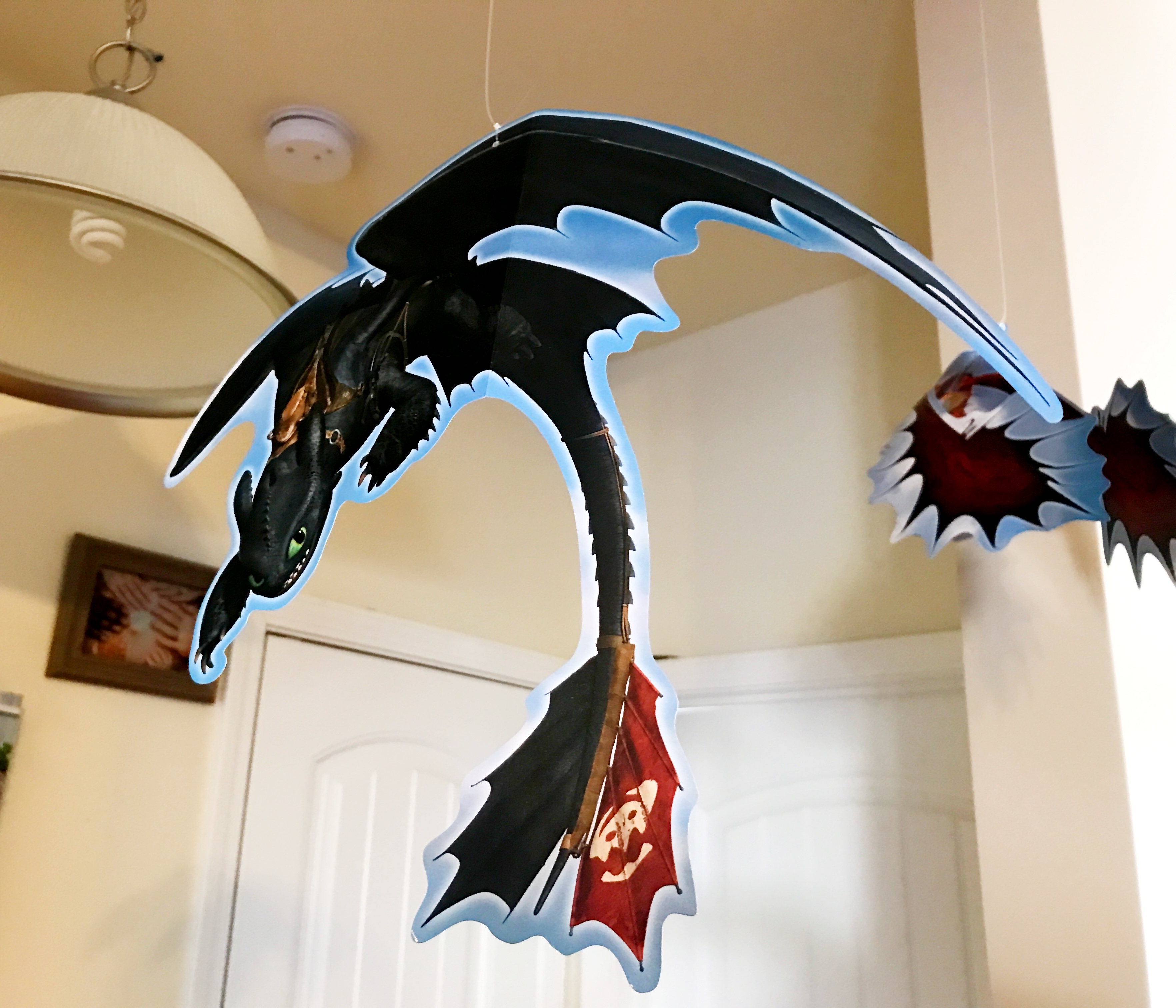 Toothless Party Decoration