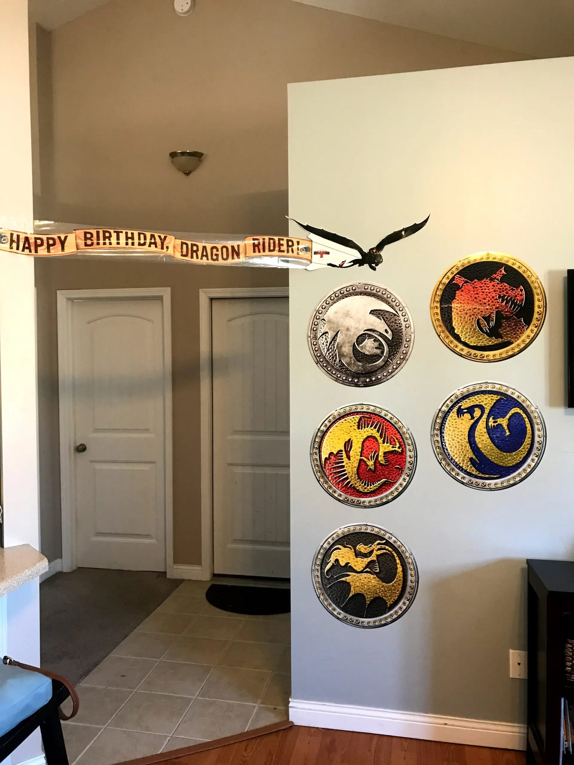 How to Train Your Dragon - Shield Decorations