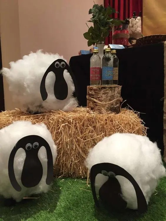 How to Train Your Dragon Party Decoration - Sheep