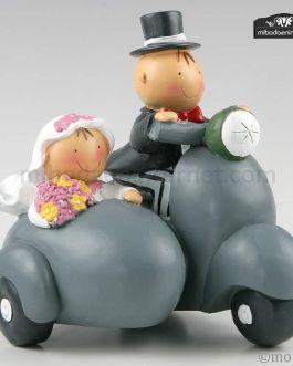 Pit & Pita Moto Vespa con Sidecar Hucha
