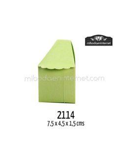 P25 Cajitas Tarta Porciones