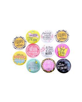 Chapas Wedding Set 11 uds