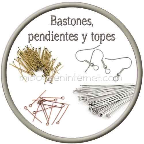 Bastones y pendientes