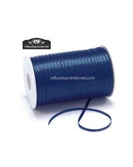 Cinta Raso Azul Marino 3mm – Metro