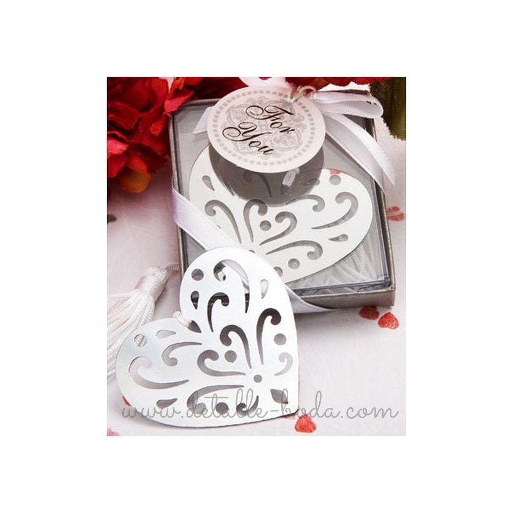 Marcapáginas Corazón en caja regalo