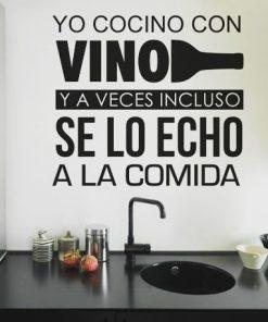 Frases - Cocina - Vino 2