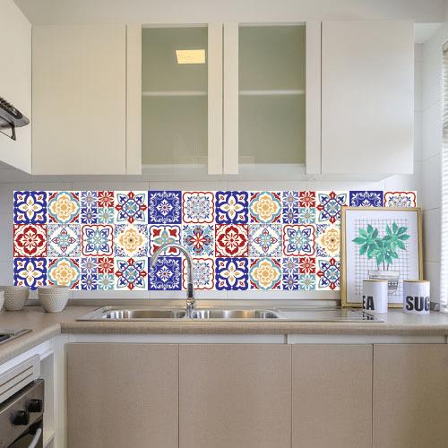 Cocina Tonos Turquesas - Colección Mediterráneo 2 Full