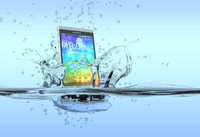 Don't panic. Here is what you do if you get your phone wet