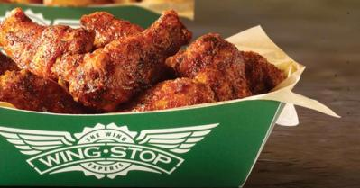 Get your wing fix with the Wingstop app