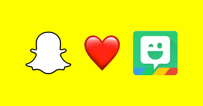How to use Snapchat's new augmented Bitmoji feature