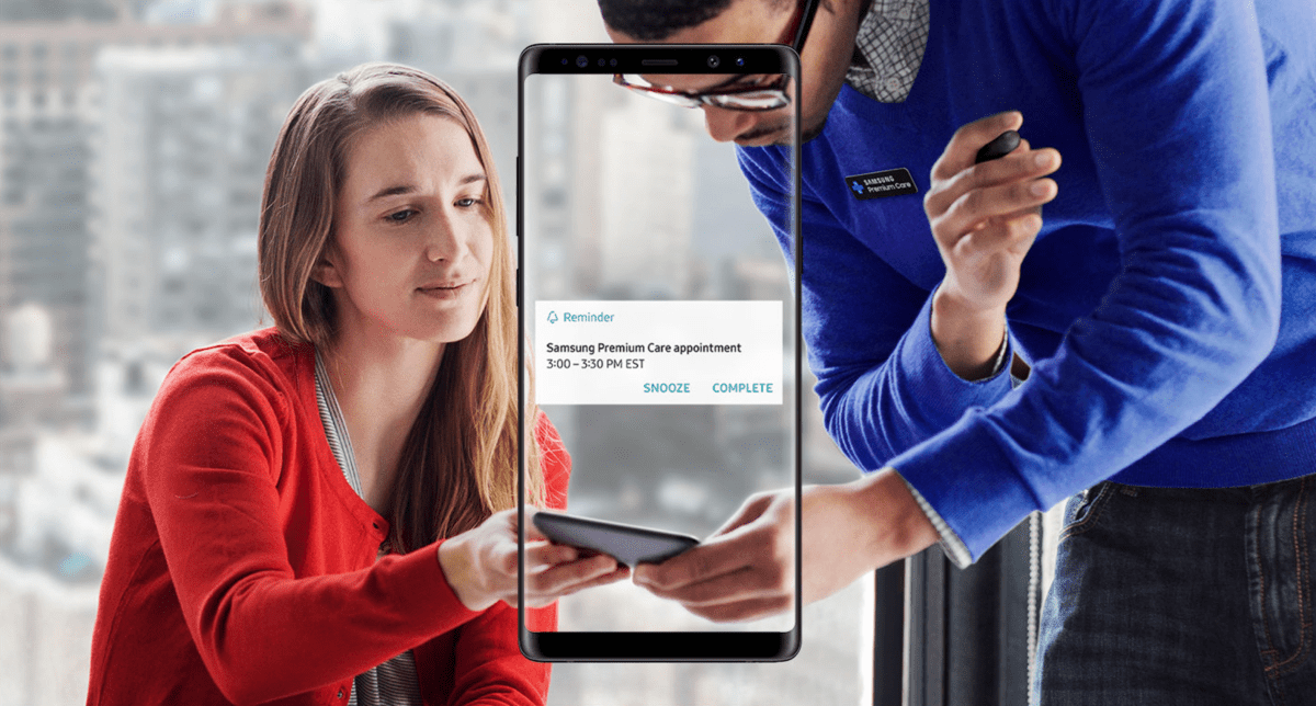 A broken display on the Samsung Galaxy Note 8 can cost $300 to repair. You should consider Samsung Premium Care insurance.