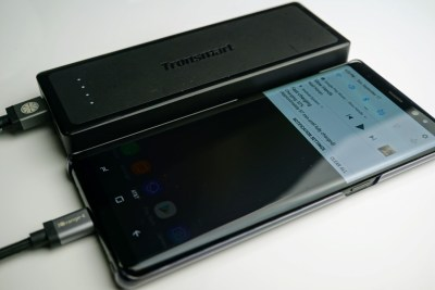 Tronsmart Presto portable battery: The perfect companion to keep your Samsung Galaxy S8, S8+ and Note 8 charged all weekend long (review)