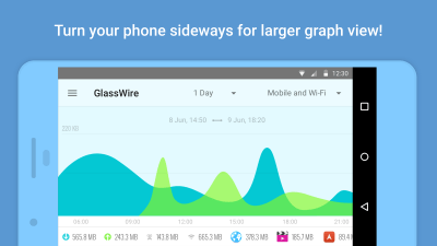 The GlassWire app will help keep your data usage in check