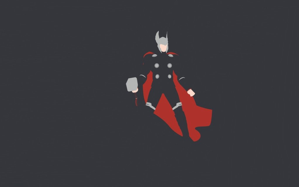 50 Minimalist QHD Wallpapers to Get Your Superhero Fix